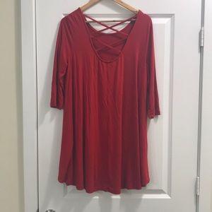 zoe Dresses - Euc-ZOE red dress large